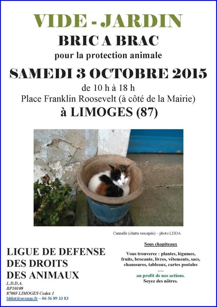 Vide jardin 2015 cannelle chatte rescap e for Vide jardin tournefeuille 2015